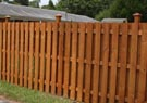 shadow box cedar wood fences