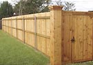 privacy cedar wood fences