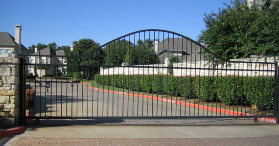 Iron Gates Automatic Driveway Gates Dallas Fort Worth Tx